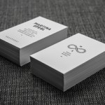 business cards letterpress