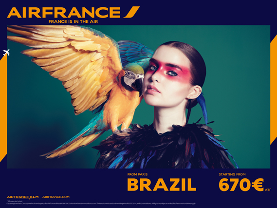 air france advert