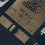 Veranda restaurant visual identity