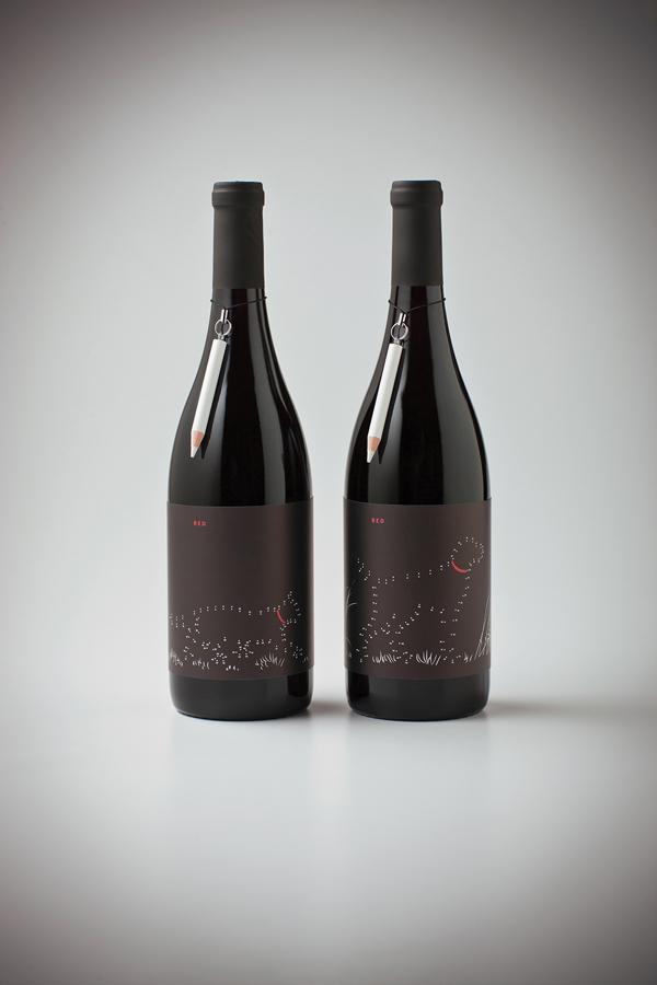 wine label example