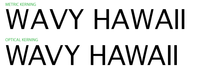 Kerning Examples